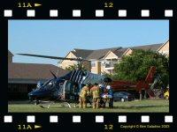 CareFlite 1 at Scene in Euless 6/2/2003