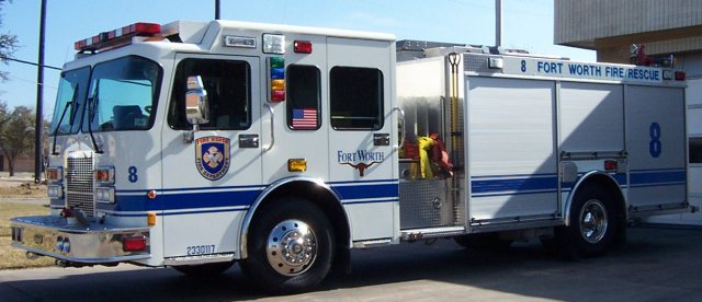 Fort Worth Fire Department gets new trucks.