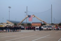 Hurst, Euless, and Bedford Public Safety Departments Remember 9-11