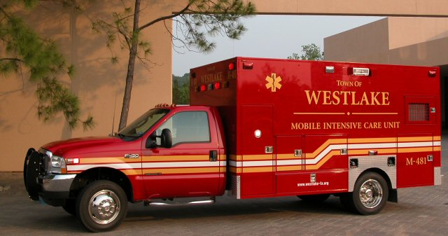 Westlake's New Ambulance